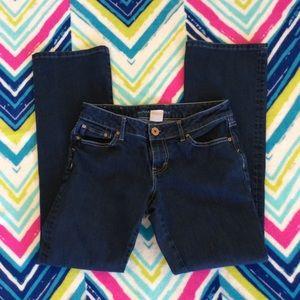 Banana Republic jeans 27 womens curvy boot